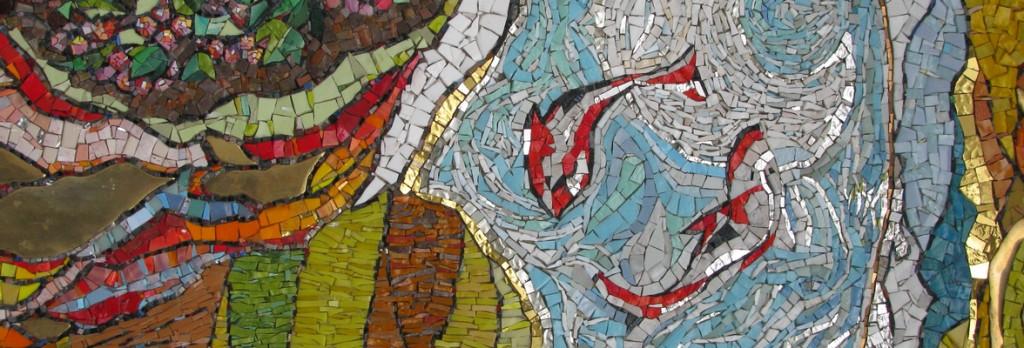 Фрагмент мозаики в Сан Дамиано.