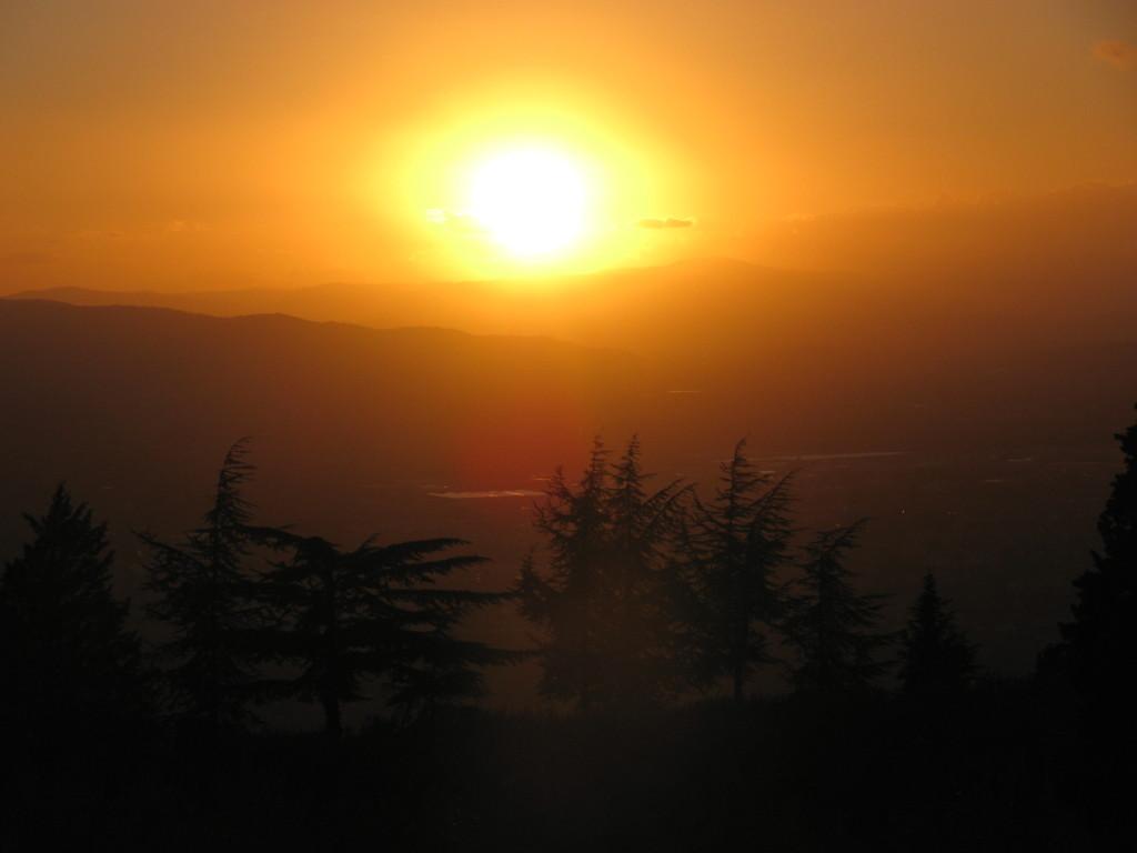 Закат в Умбрии