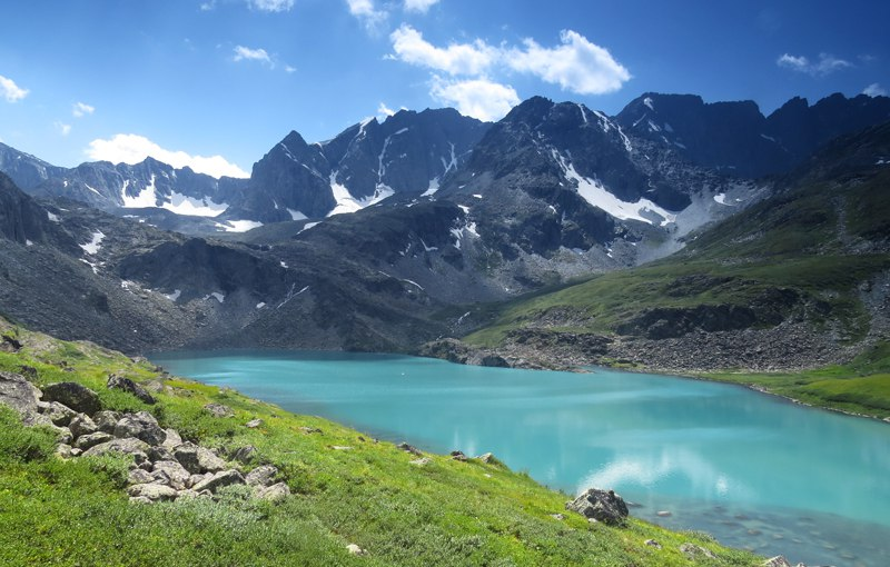 Озеро Акчан. Фото: Миша Родкин