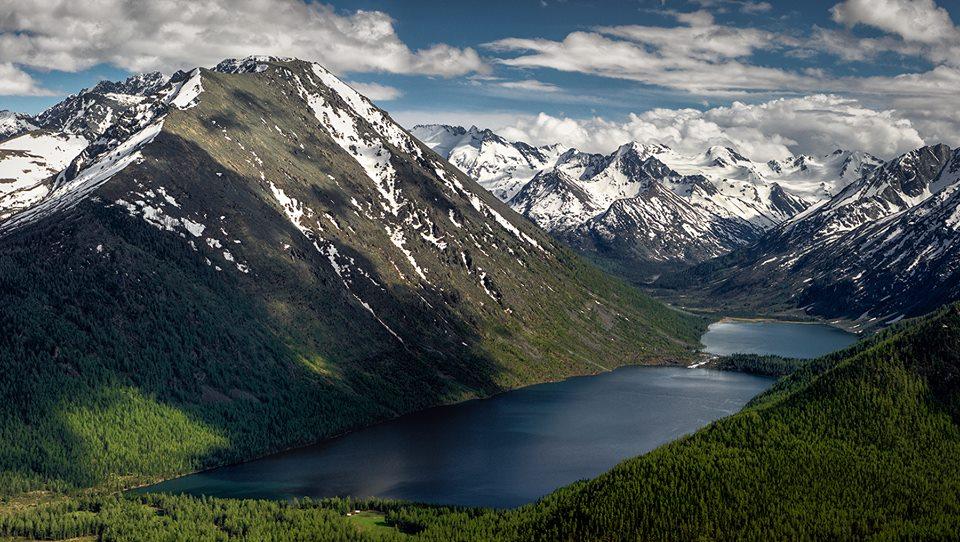 Каскад Мультинских озер . Фото: Вадим Кононенко