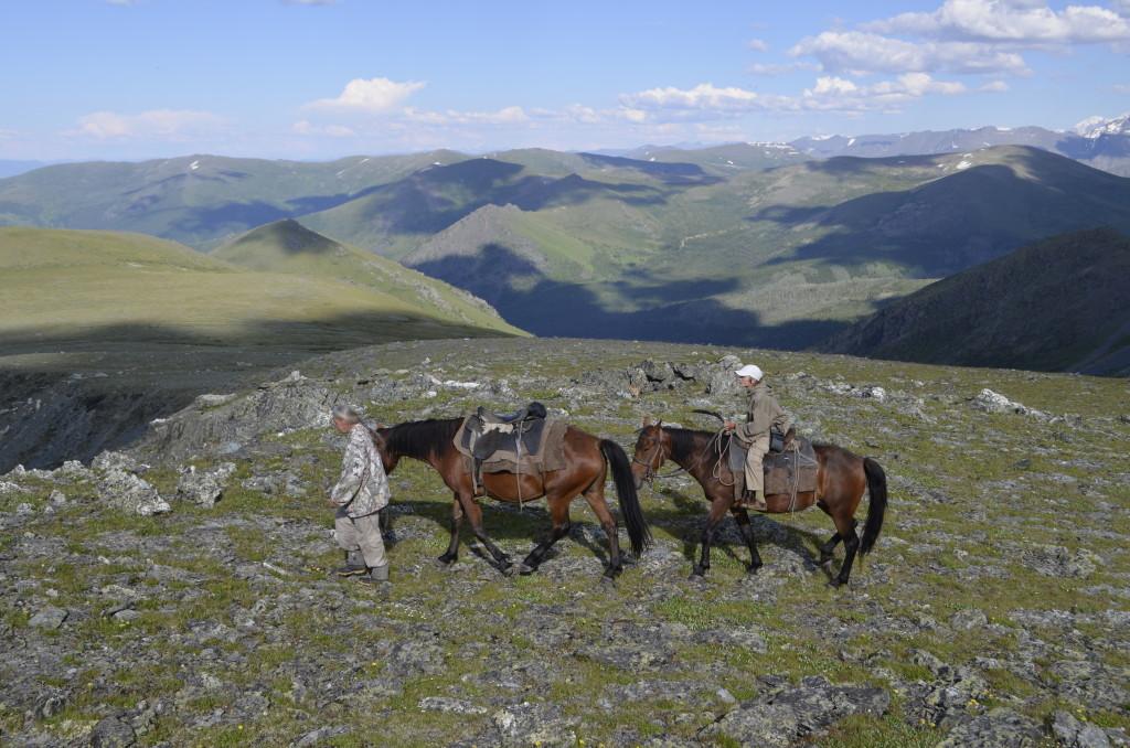 У подножия горы куйгук. Фото: Айю