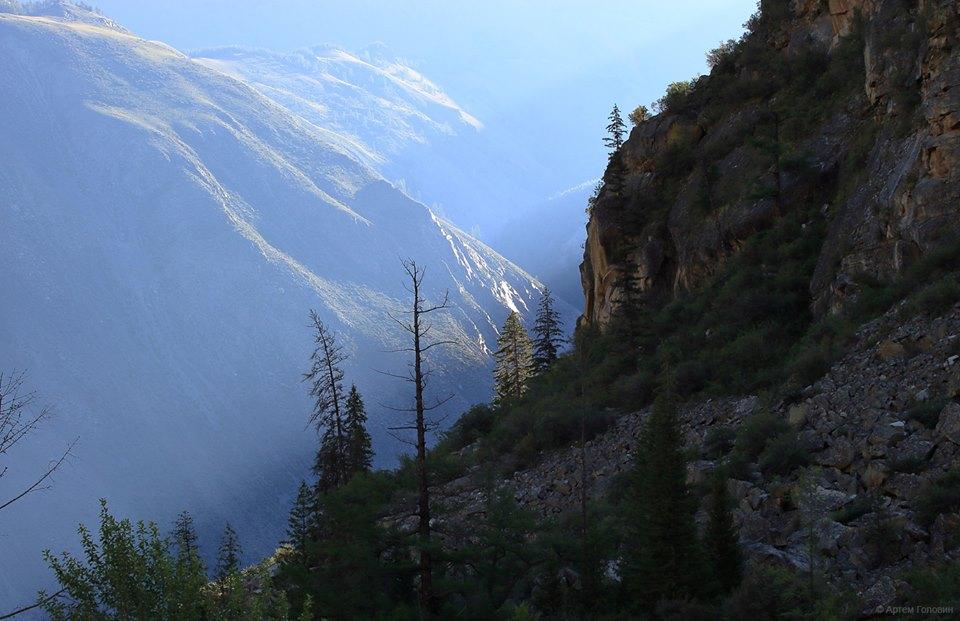 Долина Аргута. Вид из долины Иедыгема