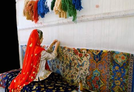 Работа над ворсовым ковром