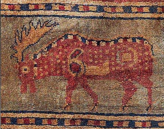 Олень Пазырыкского ковра