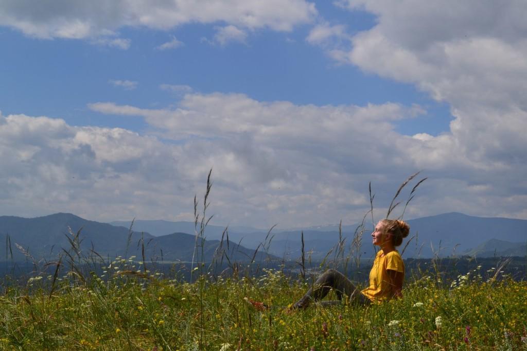 В Уймонской долине. Фото: Ольга Гужбина