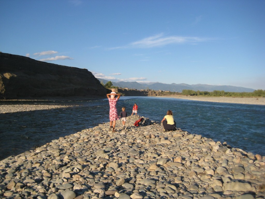 На слиянии рек Катуни и Коксы . Фото: Алена Ананьина