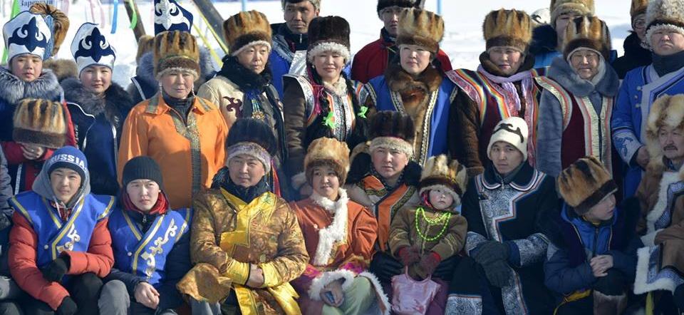 На алтайском празднике. Фото: Надежда Ерленбаева