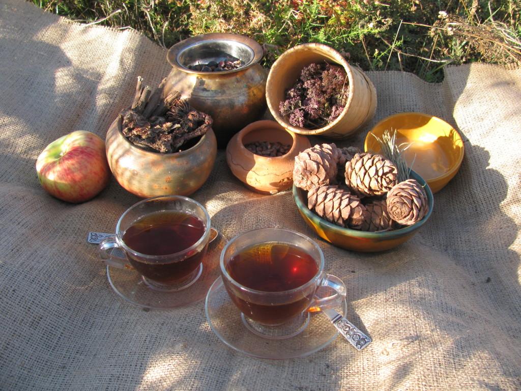 Чайный натюрморт. Фото автора