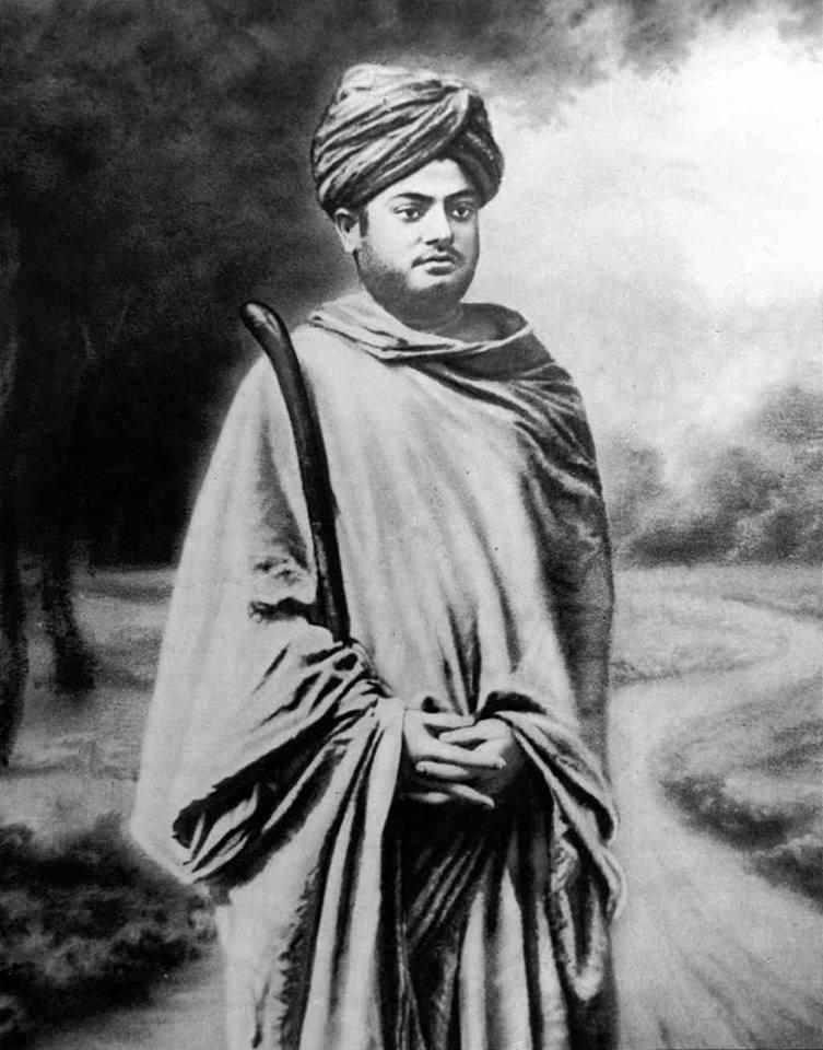 Свами Вивекананда во время своего паломничества по Индии