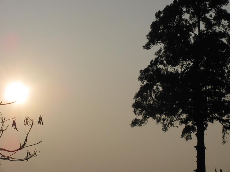 Зимний вечер на севере Индии