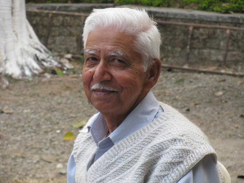 Администратор в дхамма-центре в Дехрадуне
