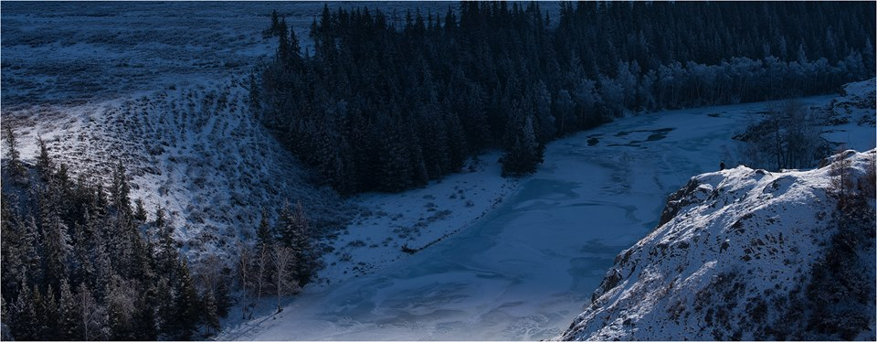 Над замерзшей Чуей