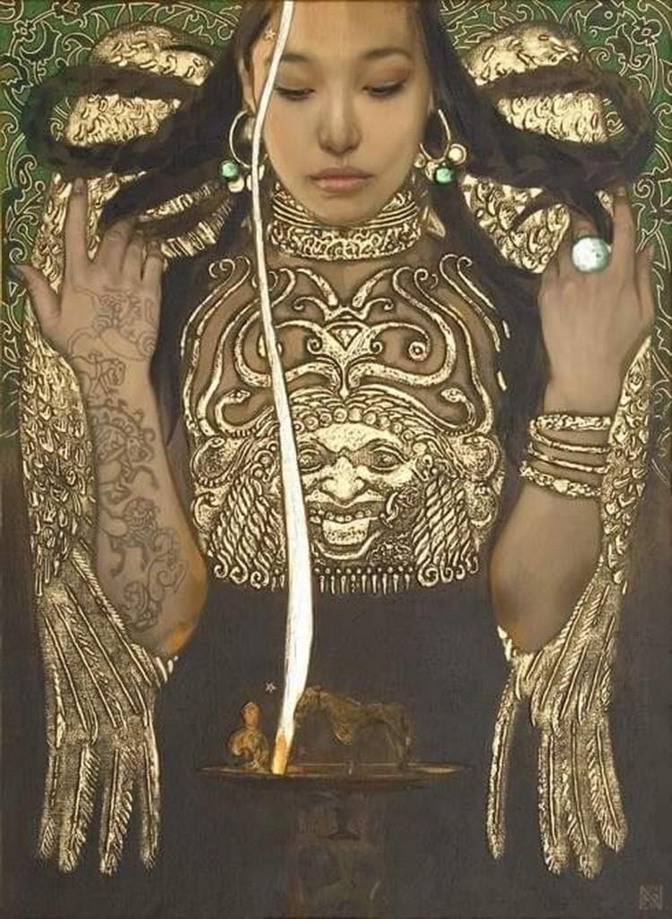 Золотая Богиня Автор: Нурлан Килибаев