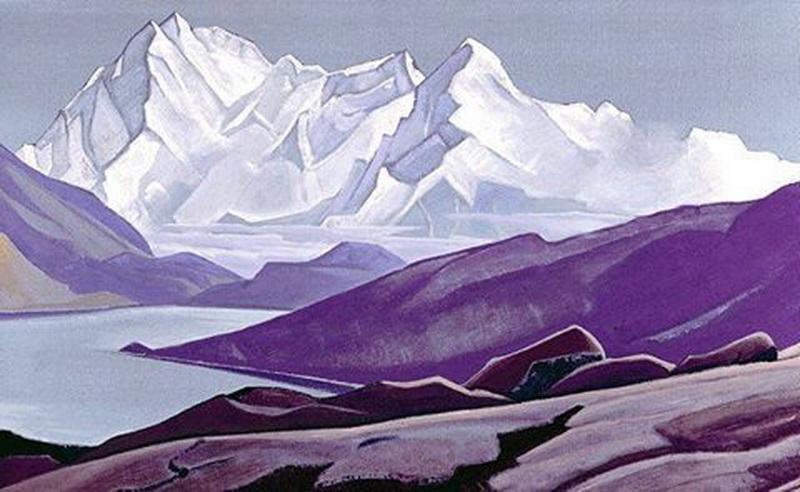 Н.К.Рерих. Священные Гималаи. 1934г