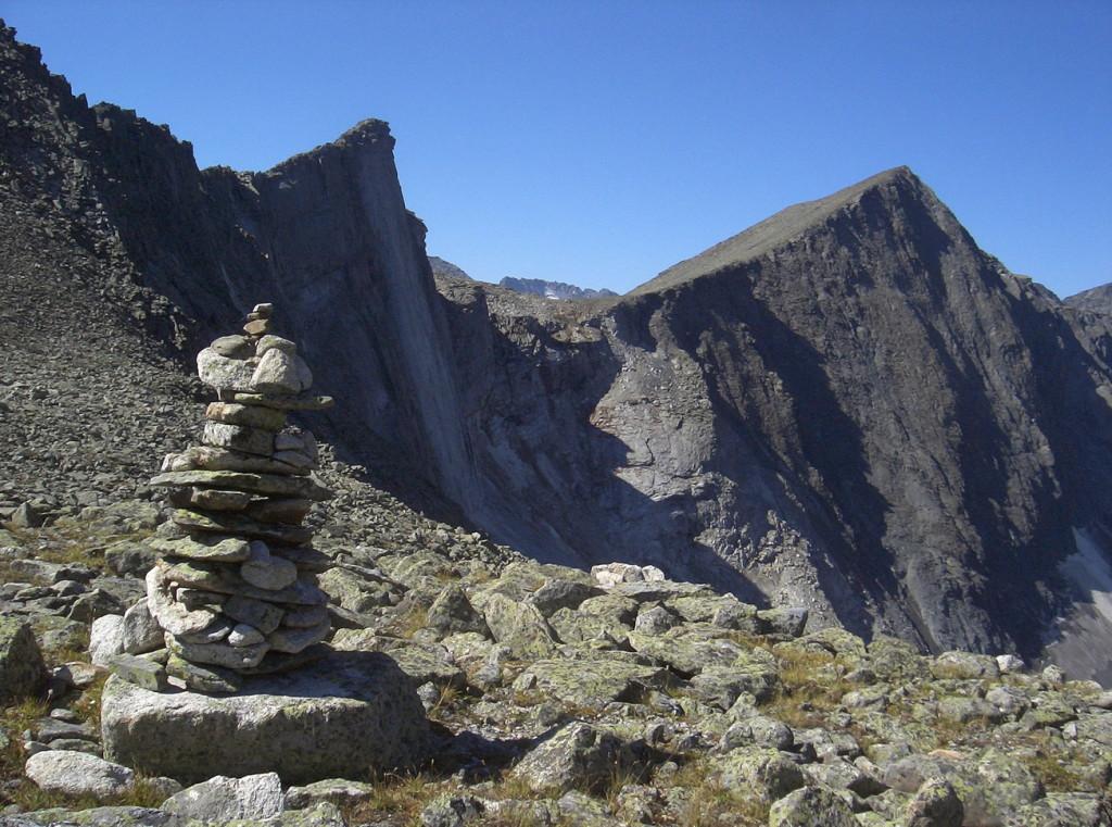 Перевал Суровый. Катунский хребет. Фото: Дмитрий Анисимов